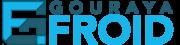 Website logo, gouraya froid