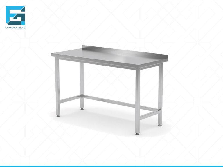 TABLE DE TRAVAIL AVEC DOSSERET SANS ETAGERE